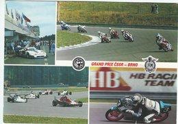 Motor Cycles & Racingcars.  Used Brno - Czech Republic.  B-3341 - Motorcycle Sport