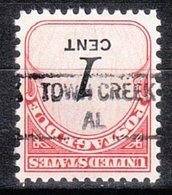 USA Precancel Vorausentwertung Preo, Locals Alabama, Town Creek 841 - Vereinigte Staaten