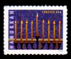 USA, 2016 Scott #5153, Hanukkah, Single,  MNH, VF - Unused Stamps