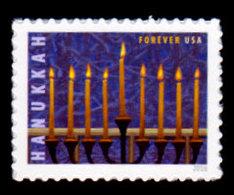USA, 2016 Scott #5153, Hanukkah, Single,  MNH, VF - Ongebruikt
