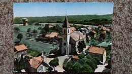 CPSM BEAUCOURT T DE BELFORT L EGLISE   EN AVION AU DESSUS DE LAPIE 20 CHATEAU D EAU - Beaucourt