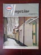 Esso Magazine N° 6 Beguinage Lierre - La Prospection - Pélerinage à La Mecque - Le Gaz En Belgique - Cirrus... - Informations Générales