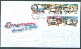 AUSTRALIA  - FDC - 16.10.2007 - CARAVANNING - Yv 2780-2784 - Lot 18578 - FDC