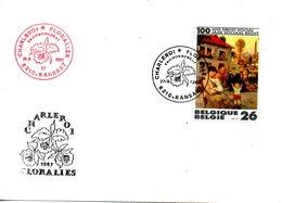 BELGIQUE. Enveloppe Commémorative De 1987. Floralies De Charleroi. - Vegetales