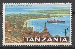 Tanzania 1965 Mi# 13** DAR ES SALAAM HARBOR - Tanzania (1964-...)