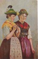 AK 0098  Prölls , F. - Zum Tanze Geschmückt ( Tiroler Tracht ) Um 1910-20 - Trachten