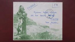 Algerie Enveloppe Illustrée En Franchise Militaire Pour Dieppe Juin 1956 - Algerien (1924-1962)