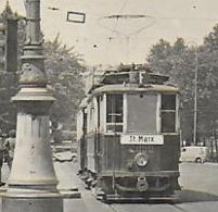 AK 0098  Wien - Opernring ( Strassenbahn St. Marx ) Ca. Um 1930 - Tramways