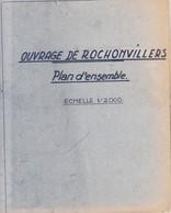 Plans De L'ouvrage De Rochonvillers - Documents