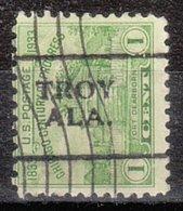 USA Precancel Vorausentwertung Preo, Locals Alabama, Troy 701 - Etats-Unis