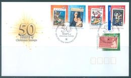 AUSTRALIA  - FDC - 1.11.2007 - CHRISTMAS - Yv 2785-2789 - Lot 18579 - FDC