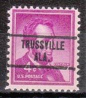 USA Precancel Vorausentwertung Preo, Locals Alabama, Trussville 734 - Etats-Unis