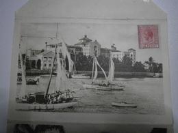 Bahamas, Nassau. Rare Carte Lettre, 5 Vues : Colonial Hotel, Public Buildings, Silk Cotton Tree, Peck's Slope ... (40) - Bahamas