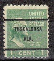 USA Precancel Vorausentwertung Preo, Bureau Alabama, Tuscaloosa 804-61 - Vereinigte Staaten