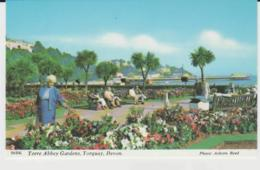 Postcard - Torre Abbey Gardens,no.2 Torquay, Devon - Unused Very Good - Postcards