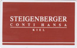 Hotel Key Card  - - -  Germany - - - Steigenberger Kiel - Cartes D'hotel