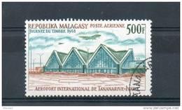 Madagascar. Poste Aérienne. Aéroport International De Tananarive - Madagascar (1960-...)
