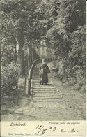 Linkebeek -- Escalier Près De L' Eglise.    (2 Scans) - Linkebeek