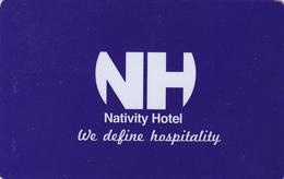Hotel Key Card  - - -  Palestina - Cartes D'hotel