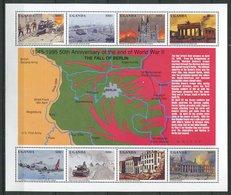 Ouganda ** N° 1206 à 1213-  2eme Guerre Mondiale - Uganda (1962-...)