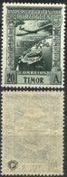 """TIMOR, 1947, IMPÉRIO COLONIAL PORTUGUÊS, SBC. """"LIBERTAÇÃO"""", CE#A.20, 20a., MNH - Timor"""
