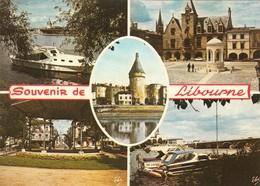 CP -  Libourne - Gironde 33 -  Circulé - Libourne