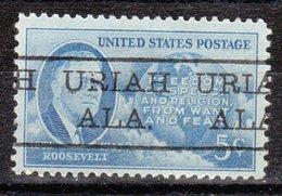 USA Precancel Vorausentwertung Preo, Locals Alabama, Uriah 477 - Etats-Unis