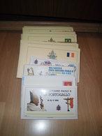 Sammlung Vatikan Papstreisen Ca 125 Briefe Johannes Paul II (52028) - Sammlungen