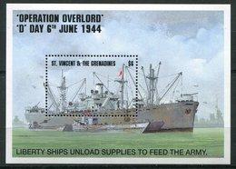 ** St Vincent Et Grenadines  Bloc 275 - Opération Overlord - St.Vincent & Grenadines