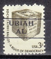 USA Precancel Vorausentwertung Preo, Locals Alabama, Uriah 872 - Etats-Unis