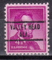 USA Precancel Vorausentwertung Preo, Locals Alabama, Valley Head 734 - Vereinigte Staaten