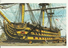H.M.S. VICTORY / PORT SIDE - Portsmouth