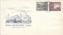 Czechoslovakia - 1953 MINERS' DAY - Tchécoslovaquie