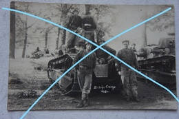 Photo ? ème Régiment De Chars De Combat BITCHE 1930 RCC Char Renault FT Militaria Tank - Oorlog, Militair