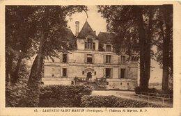 - LAMONZIE SAINT MARTIN - Château St Martin - - France