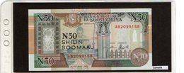 Banconota Somalia 50 Shilin Somali - Somalie