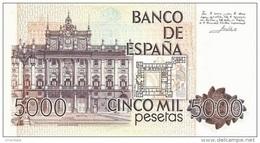 SPAIN P. 160 5000 P 1979 UNC - [ 4] 1975-… : Juan Carlos I