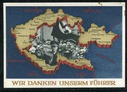 """Deutsches Reich / 1938 / Sonderpostkarte """"Abstimmung Sudetenland"""" Mi. P 275 ** (1/406) - Deutschland"""
