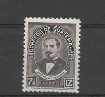 GUATEMALA 1945, JOSE MILLA Y VIDAURRE, PORTRAIT, WRITER, LITERATURE MICHEL 446 SCOTT C134 - Guatemala