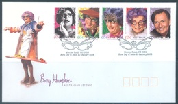 AUSTRALIA  - FDC - 20.1.2006 - AUSTRALIAN LEGEND BARRY HUMPHRIES - Yv 2396-2400 - Lot 18581 - Premiers Jours (FDC)