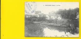 FONTENOY Le Port Péniche (Hayot) Aisne (02) - Autres Communes