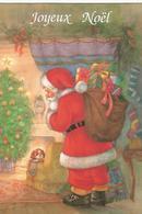 Lot De 4 Cartes Joyeux Noel - Postcards