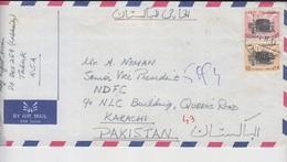 Saudi Arabia Airmail Cover To Pakistan,              (A-399ZZ) - Arabie Saoudite