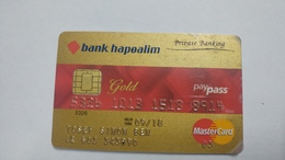 Israel-crediet Card(642)(8914-542)-used Card+1card Prepiad Free - Cartes De Crédit (expiration Min. 10 Ans)
