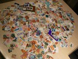 Vrac Timbres Monde + France - Anciens Et Récents -  - Estimation Plus De 5 000 Tp - Stamps