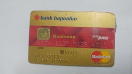 Israel-crediet Card(643)(6011-393)-used Card+1card Prepiad Free - Cartes De Crédit (expiration Min. 10 Ans)