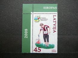 Championship In Orienteering Sport # Latvia Lettland Lettonie # 2008 MNH #Mi. 734 - Lettonie