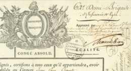KLINGENMÜNSTER 1797 Bad Bergzabern 62e Demi-Brigade General Schauenbourg + Vandermaesen Mirebeau - Documenti Storici