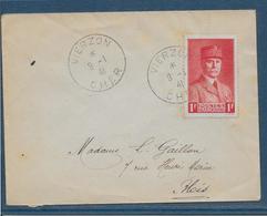 France Timbres Sur Lettre 1941 - TB - Lettres & Documents