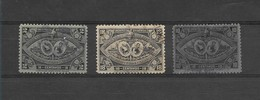 GUATEMALA 1897, CENTRAL AMERICAN EXPO, 3 VALUES, USED SCOTT 61,63,65 MICHEL 58, 60, 62 - Guatemala